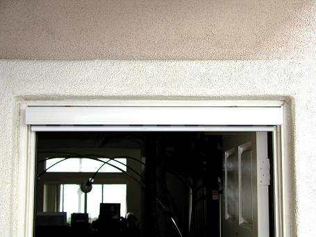 Secret screen pull down retractable screen doors product for Hidden sliding screen door